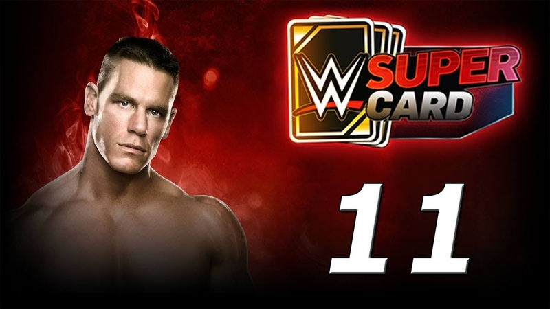 WWE SUPERCARD Карточные бои! №11 Android