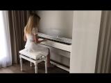 Мой долгожданный и романтичный pianocover на песню Rescue Me 🎹🎵💛