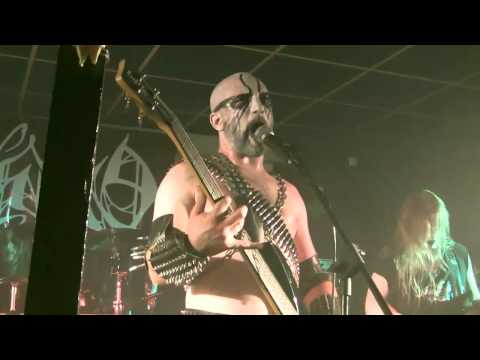EXCRUCIATE 666 - A Call To Destruction (Black Metal War Festival, live at Dock 412, 18/09/2010) (live video)
