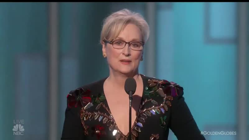 Meryl Streep just took down Donald Trump and never once mentio