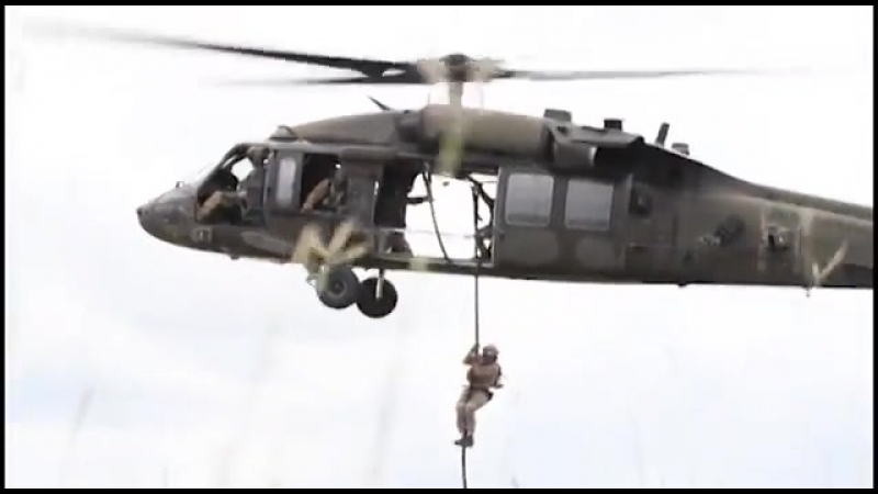 U S and Colombian Forces Conduct Fast Rope Exercises CARTAGENA COLOMBIA 08 09 2018