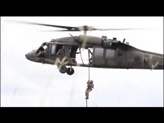 U.s and colombian forces conduct fast rope exercises cartagena, colombia 08.09.2018