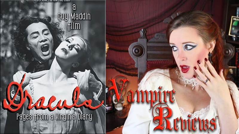 Vampire Reviews Dracula Pages from a Virgin's Diary