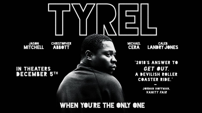 Tyrel Official Trailer with Jason Mitchell Christopher Abbott Michael Cera Caleb Landry Jones