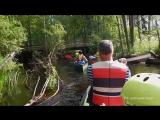 Беличья Тропа, сплав на каноэ в Финляндии