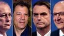 URGENTE Haddad sobe 7,9 e empata com Bolsonaro