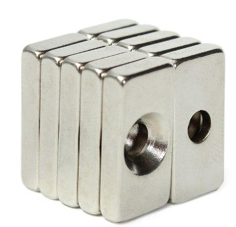 Неодимовые магниты с отверстием