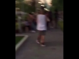 Another video of Justin Bieber and Hailey Baldwin spotted out in New York yesterday. (June 30)