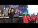 Sign Language Interpreter Translates Lamb of God's Music