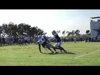 Lance Lenoir's amazing grab #CowboysCamp Day 6