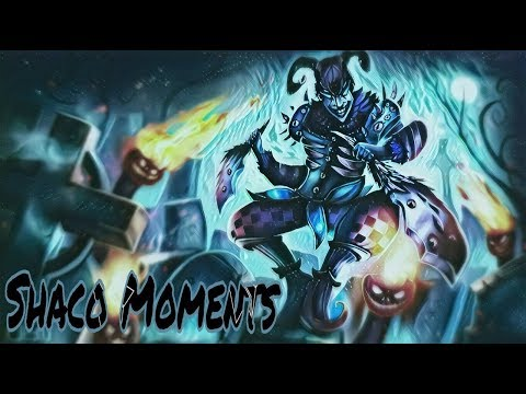 Shaco Moments - Now you see me... Now you DON'T! (League of Legends)