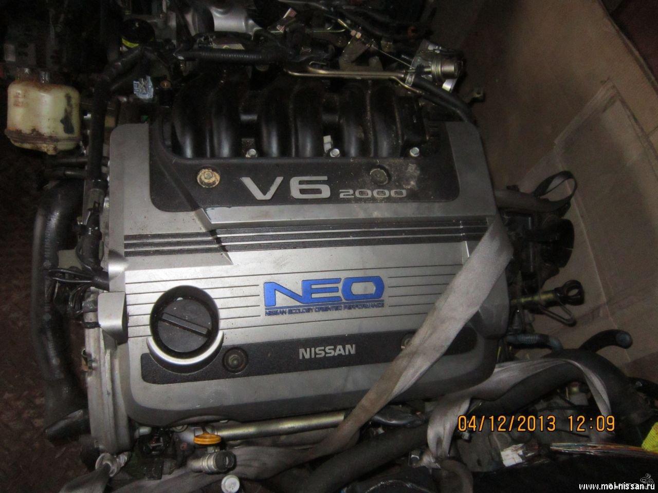 двигатель nissan vq20de neo