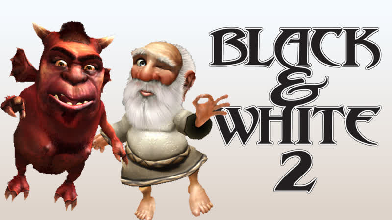 СИМУЛЯТОР БОГА Black White 2 с модом