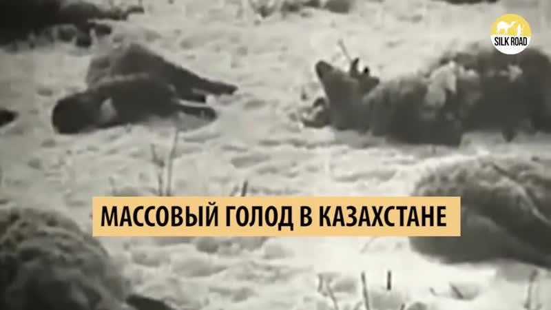 Массовый голод в Казахстане - ашаршылық