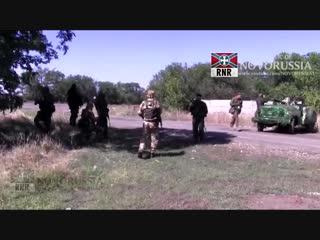 18 ЭКСКЛЮЗИВ Батальон Айдар попал в засаду 5 09 2014 #впбп #jivoy63