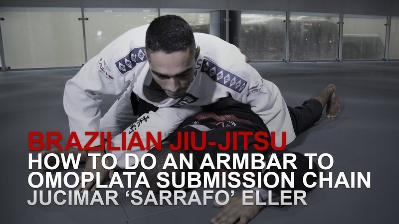 BJJ How To Do An Armbar To Omoplata Submission Chain | Evolve University