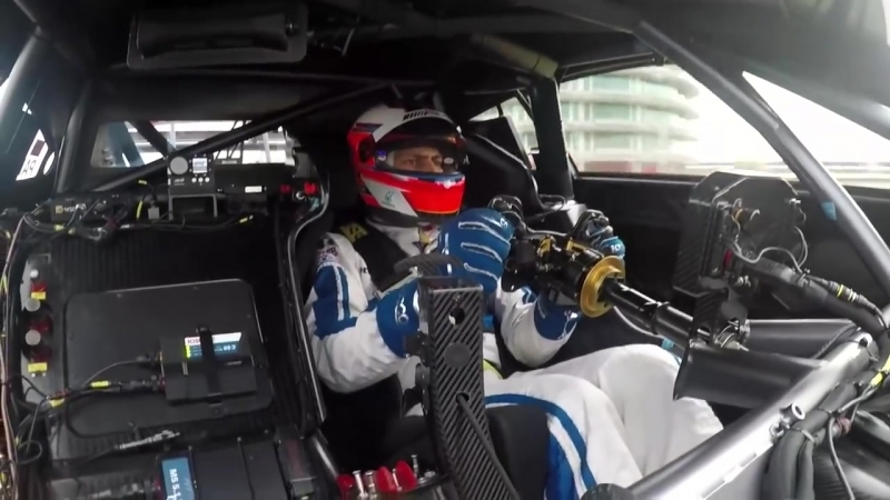 Onboard the NEW 2017 Mercedes AMG C63 DTM