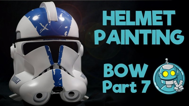 Star Wars: Painting a Clone Trooper Helmet