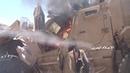 نجران - شاهد اقتحام موقع الحماد السعودي واحراق آلية برادلي وطقم وقتل وجرح العديد من الجنود السعوديين