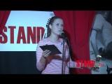 Ирина Погребняк на сцене Stand-up 0522 о аниматорах и молодой маме