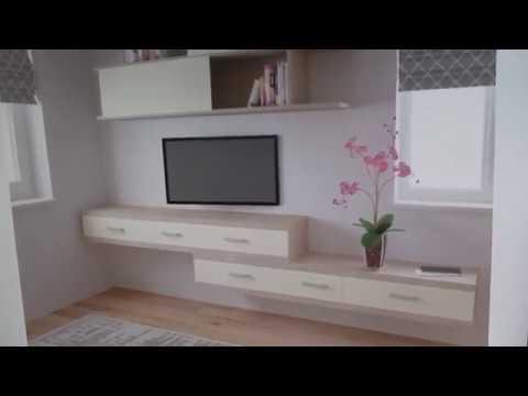 Детская комната для двух детей с шкаф - кроватью
