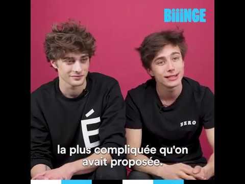 Inside Skam France avec Axel Auriant et Maxence Danet-Fauvel, aka Lucas et Elliot (eng subs)