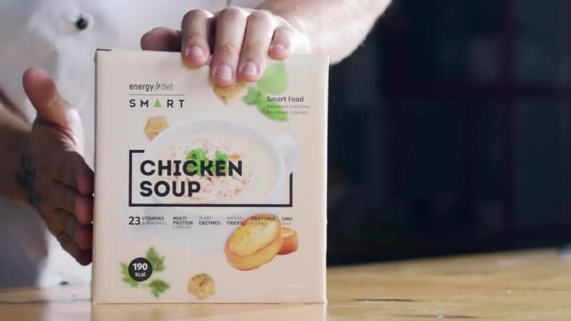 Куриный суп пюре Energy Diet Smart