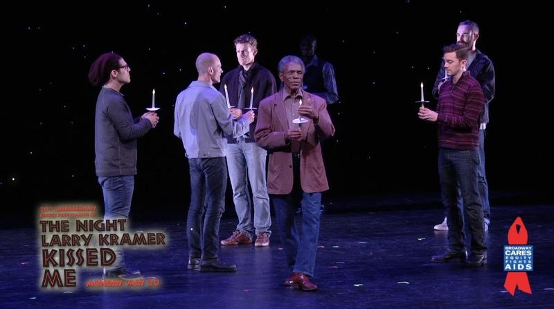 Wes Taylor, BD Wong, Anthony Rapp - The Night Larry Kramer Kissed Me Highlights