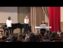 Екатерина Комарова и Мария Бидина His eye on the sparrow аккомп Николай Светличный