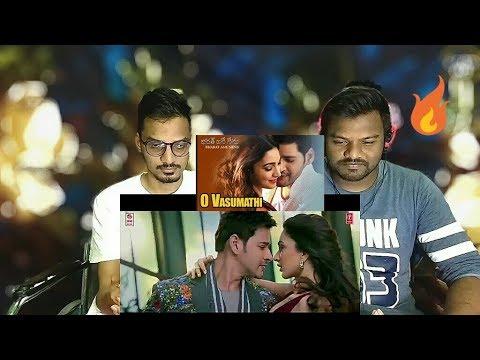 O Vasumathi Video Song REACTION | Bharat Ane Nenu | Mahesh Babu | RT Review