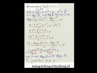 Как решить логарифмическое #неравенство #ЕГЭ #репетитор