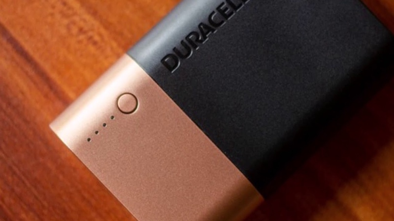 Duracell launches powerbanks