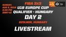 LIVE 🔴 FIBA 3x3 U18 Europe Cup 2018 Qualifiers Szolnok Hungary Day Two