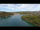 Острова Хорватии с высоты птичьего полета