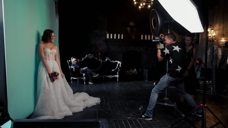 Backstage Musin BRIDE Как создавалась обложка