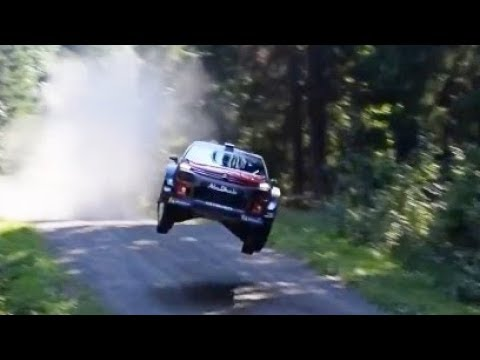 WRC TRIBUTE 2018 Maximum Attack On the Limit Crashes Best Moments