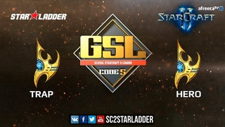 2018 GSL Season 3 Ro16, Group C, Match 2: Trap (P) vs herO (P)