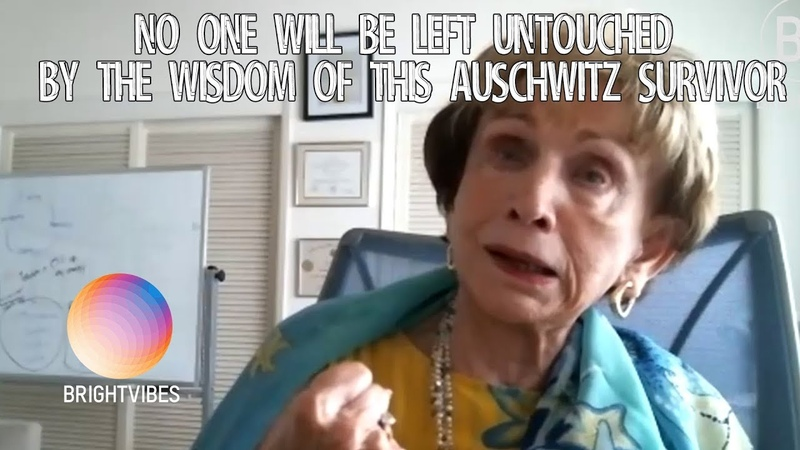 This inspiring story of Auschwitz' survivor Dr Edith Eger just brought us to tears