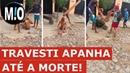 Travesti espancada até a morte Dandara dos Santos Travesti agredida morta por 5 homens em
