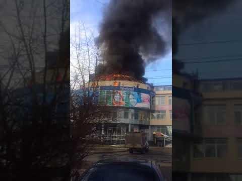 17 04 18 Пожар в Архангельске Символы жидомасонов мистера голда