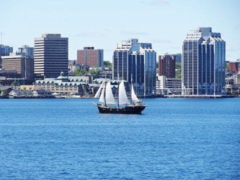 094. Как моя временная работа в Канаде стала постоянной. Сколько берет няня. Halifax harbor view.