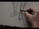 Figure drawing рисунок фигуры Svyatoslav Brakhnov Academy of realist art Академия Реалистического искусства Святослава Брахнова