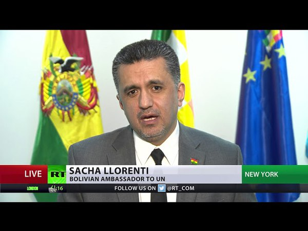 US believes acts as if its above any law - Bolivian envoy to UN