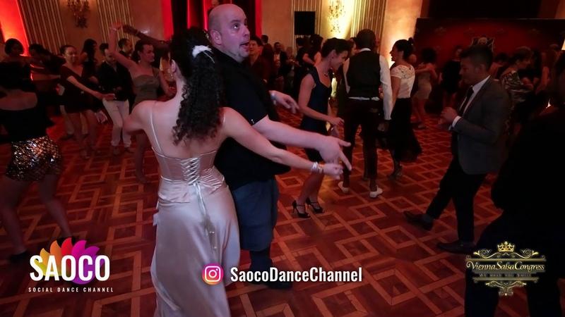 Artur Martins and Silvia Rad Salsa Dancing at Vienna Salsa Congress 2018, Sunday 09.12.2018