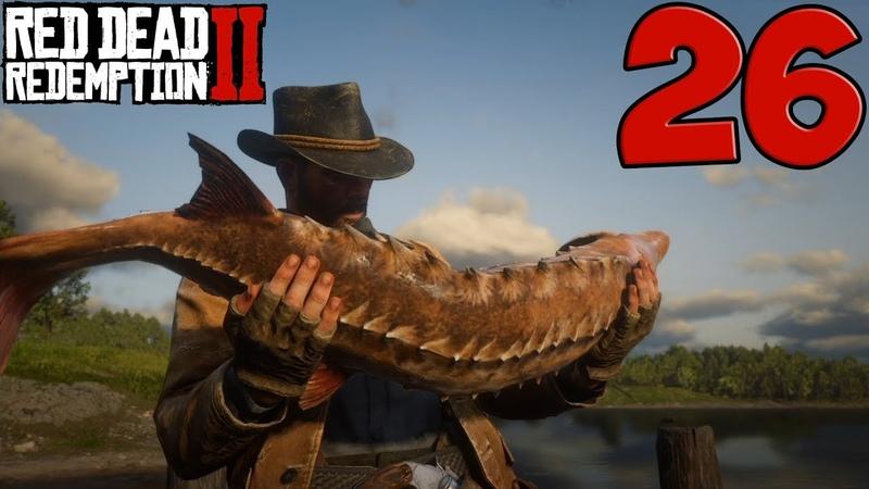 Red Dead Redemption 2. Прохождение. Часть 26 (Поиски мэра. Карта легендарной рыбы)