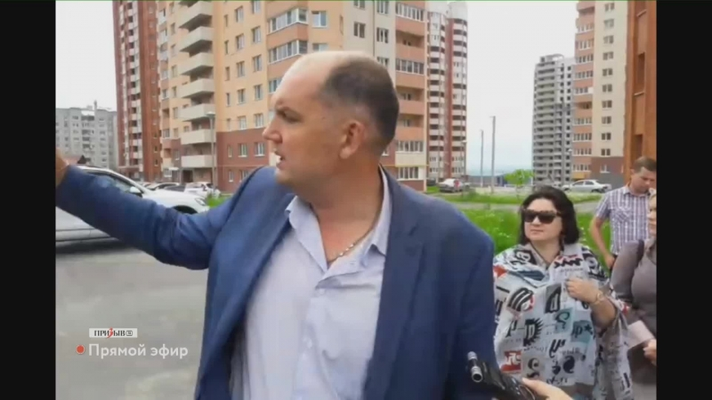 Недовольные жители Владимира протестуют против строительства нового дома