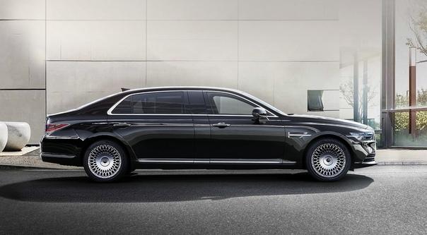 Обновлённый лимузин Genesis G90 L: с VIP-креслом и в полтора раза дешевле Майбаха.