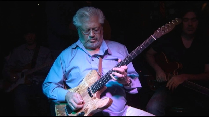 Larry Coryell 70th Birthday with Murali and Jullian Coryell at O'Donoghue's, Nyack, N.Y. 2013 Part 1