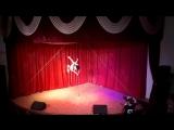 Толстова Таня pole dance студии Дайкири. танцы в Чебоксарах