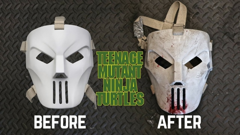 Neca TMNT Casey Jones Mask Review Makeover- Chris' Custom Collectables!